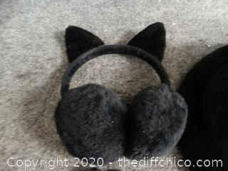 Hat, Gloves, Ear Muffs set