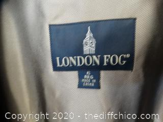 London Fog Jacket 6 Reg