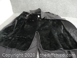 BlackTrench Coat 36 l