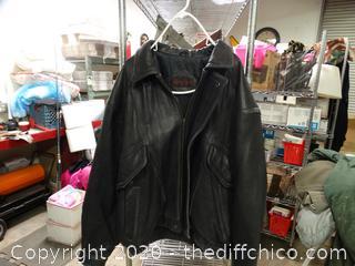 Mirage XL Leather Jacket