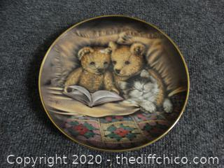 Numbered Bedtime Story   Plate