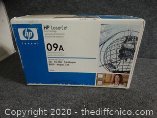 HP Laser Jet Print Cartridge 09A