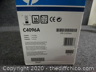 HP Laser Jet Print Cartridge C4096A