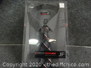 JF Stretch Technology Shirt With Tie  xl