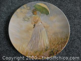 Signed Numbered Plate With COA