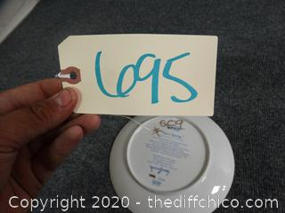 Stars Spring Plate Numbered