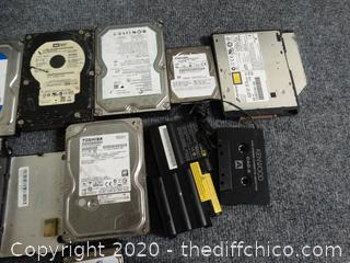 Computer Parts Unknown Contents