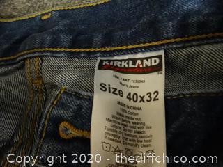 Kirkland Jeans 40x32