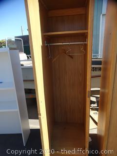 1 Wood Cabinet