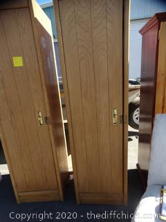 1 Wood Cabinet