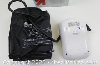 Automatic Upper Arm Blood Pressure Monitor Up & Up #48-554