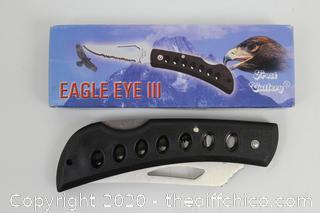 NEW Frost Cutlery Eagle Eye Knife 15-109B
