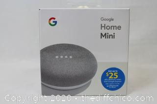 NEW Google Home Mini Smart Speaker with Google Assistant Chalk
