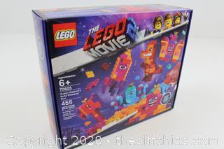 NEW SEALED LEGO Movie 70825 Queen Watevra's Build Whatever Box 455pcs Building Blocks Set