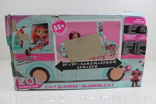 L.O.L. Surprise! 2-in-1 Glamper Fashion Camper
