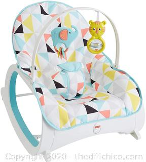 Fisher-Price Infant-to-Toddler Rocker, Geo-Triangles