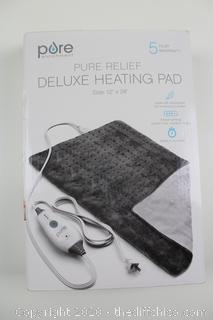 NEW PureRelief Deluxe Gray Heating Pad ($29.99)