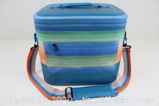 Sun Squared Welded Square 32qt Cooler Blue