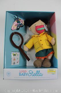 Manhattan Toy Wee Baby Stella Doll - Butterfly Catcher Set New