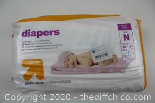 NEW Diapers - Up&Up™ NEWBORN 37CT