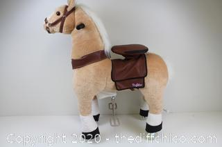 Pony Rider with Gallop & Go Pony Rider, Stand & Sit to gallop & Head Turns