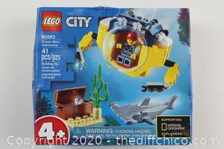 LEGO City: Ocean Mini-Submarine (60263)