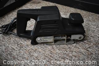 Working Black and Decker 3in Belt Sander