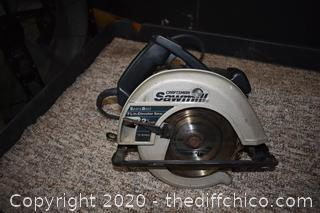 Working 7 1/4in Craftsman Circular Saw