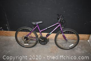24in Highland Free Spirt Bike