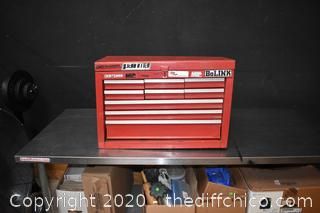 Empty Craftsman 9 Drawer Tool Box
