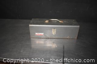 Metal Tool Box plus Contents