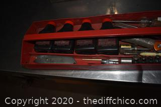 Metal Tool Box plus Contents