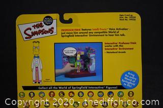 NIB The Simpsons Professor Frink