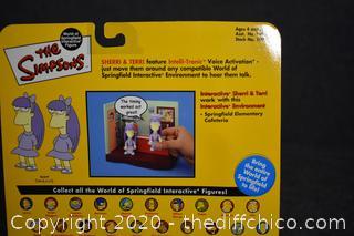 NIB The Simpsons Sherri and Terri
