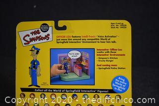 NIB The Simpsons Officer Lou