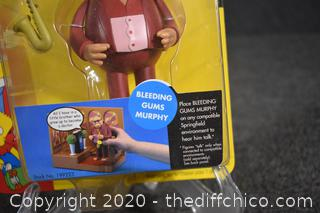 NIB The Simpsons Bleeding Gums Murphy