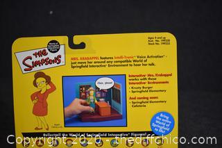 NIB The Simpsons Edna Krabappel