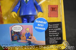 NIB The Simpsons Sunday Best Homer
