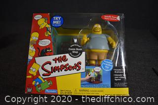 NIB The Simpsons Interactive Comic Book Shop