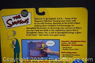 NIB The Simpsons Montgomery Burns