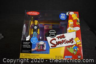 NIB The Simpsons Interactive Noiseland Arcade