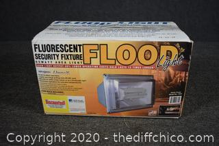 Working Fluorescent Security Lights