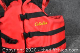 Cabela's Youth Flotation Safety Vest