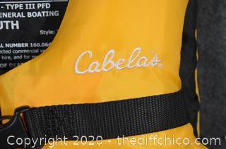 Cabela's Youth Flotation Safety Vest