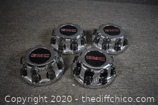 4 GMC Hub Caps