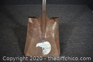 56 1/2in long Shovel