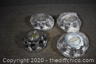 4 Chevrolet Hub Caps