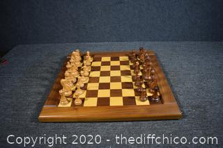 Chess Board and Pieces