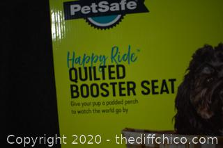 NIB Quilted Booster Seat