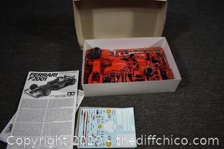 NIB Ferrari F2001 Model